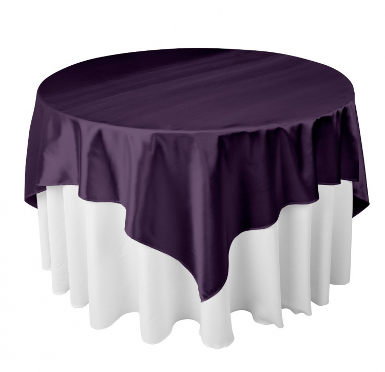 72 Square Tablecloth Overlay