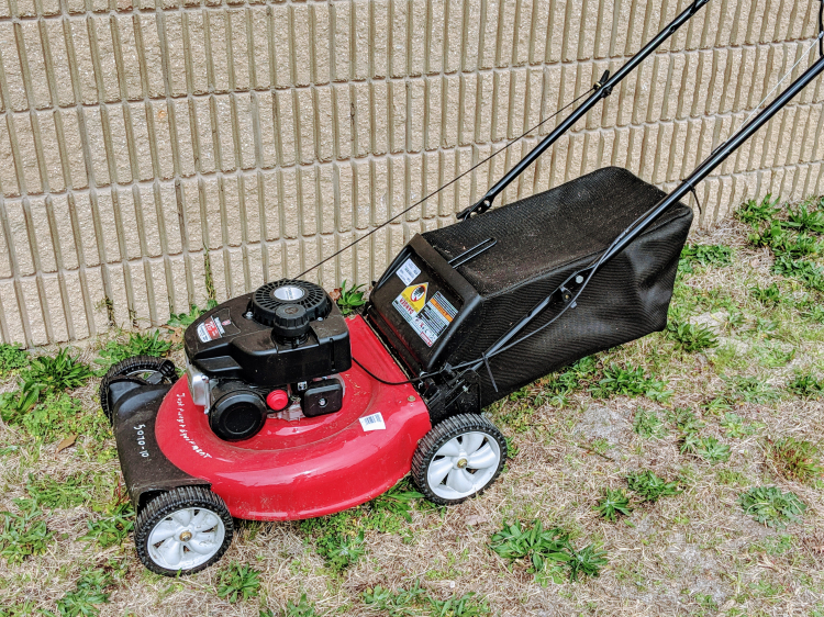 Push Mower w/rear bag 5070