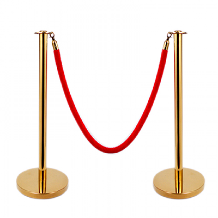 Gold Stanchions