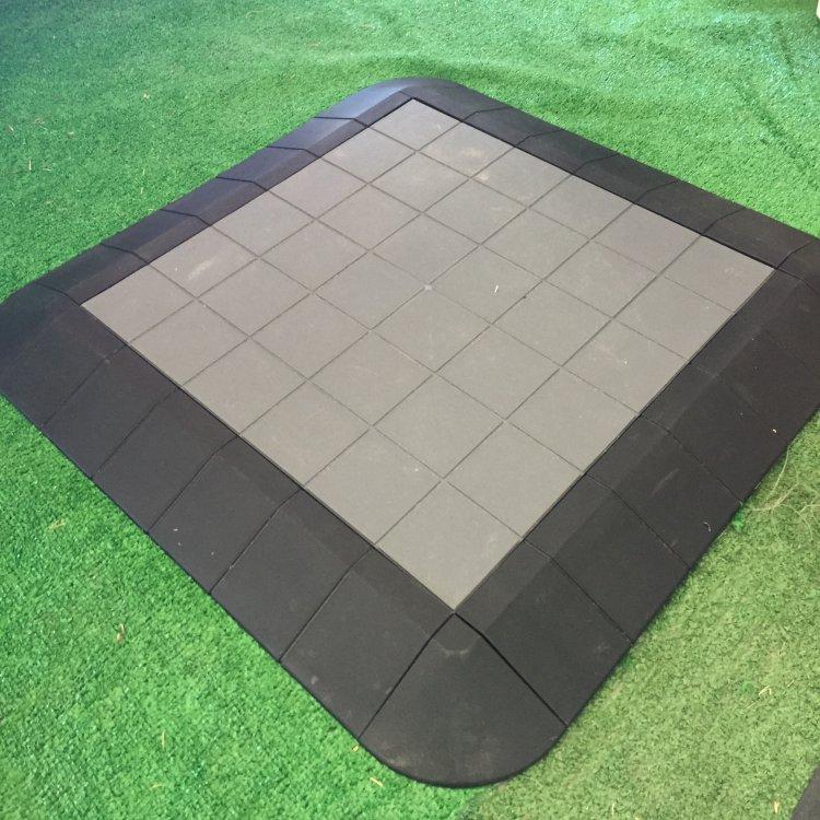 13.5'x13.5' Tent Floor, Grey