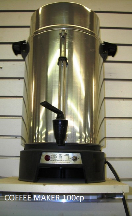 Coffee Maker- 100 Cup