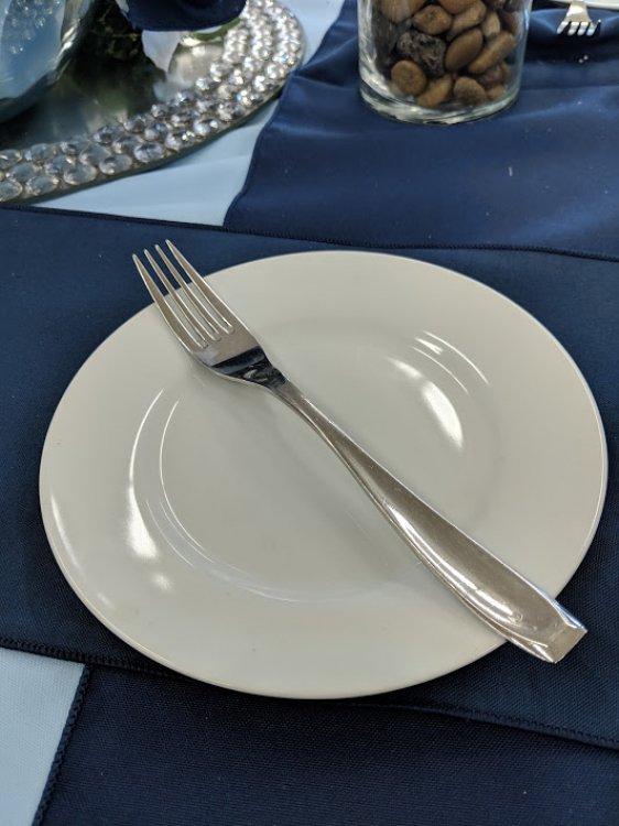 White China Salad/Dessert Plate