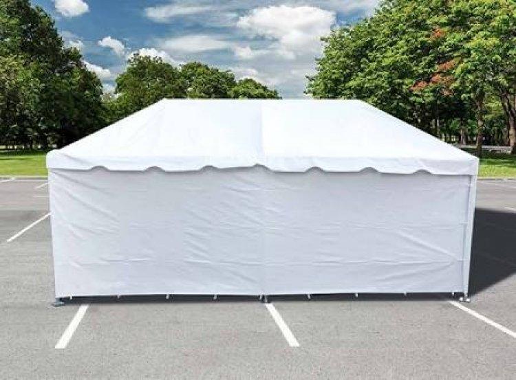 Tent Wall 8'x20' (no window)
