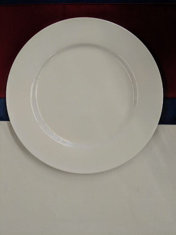 White China Bread/Butter Plate
