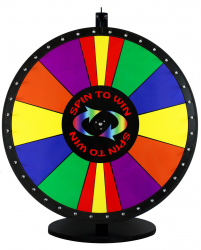 Spin-N-Win Wheel
