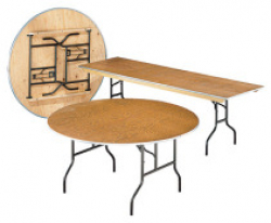 8' Wood Table Rectangle